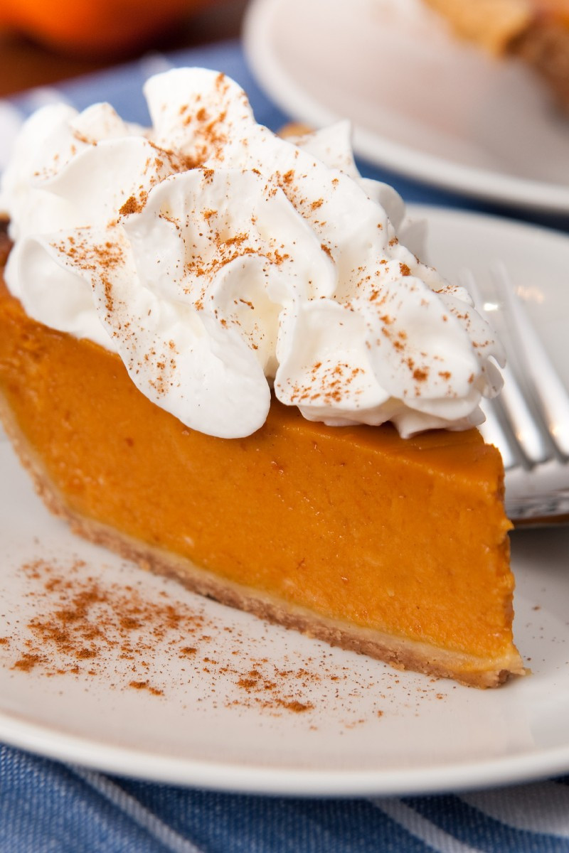 Home Made Pumpkin Pie  Homemade Fresh Pumpkin Pie