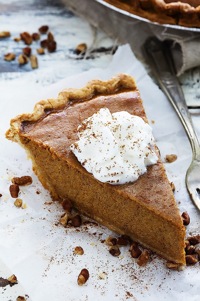 Home Made Pumpkin Pie  Easy Homemade Pumpkin Pie