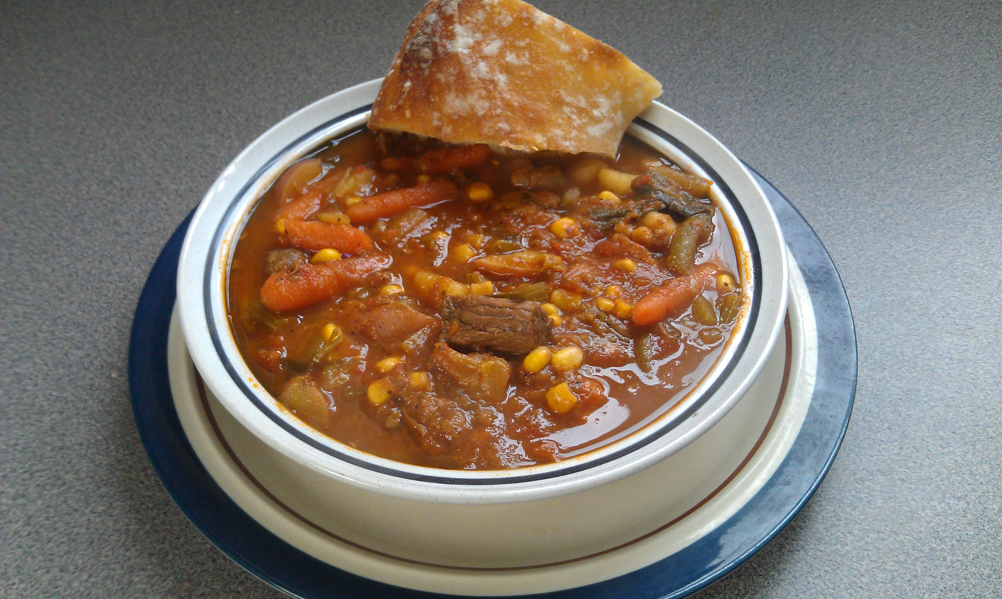 Homemade Beef Vegetable Soup  Homemade Ve able Beef Soup Recipe