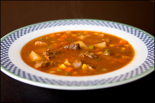 Homemade Beef Vegetable Soup  Homemade Beef Ve able Soup