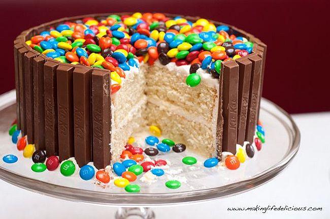 Homemade Birthday Cake Ideas  Easy Birthday Cake Decorating Ideas