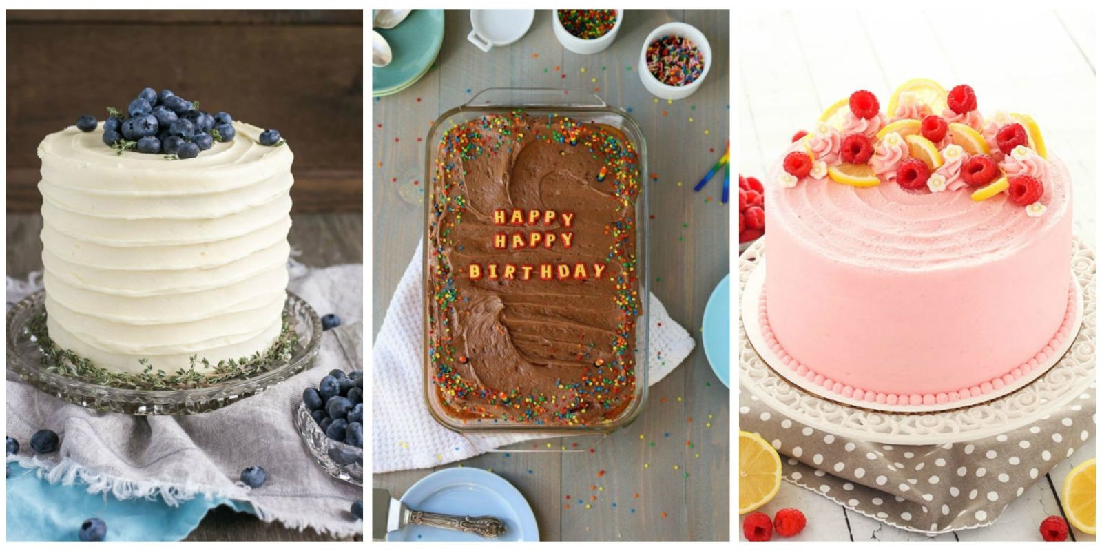 Homemade Birthday Cake Ideas  22 Homemade Birthday Cake Ideas Easy Recipes for