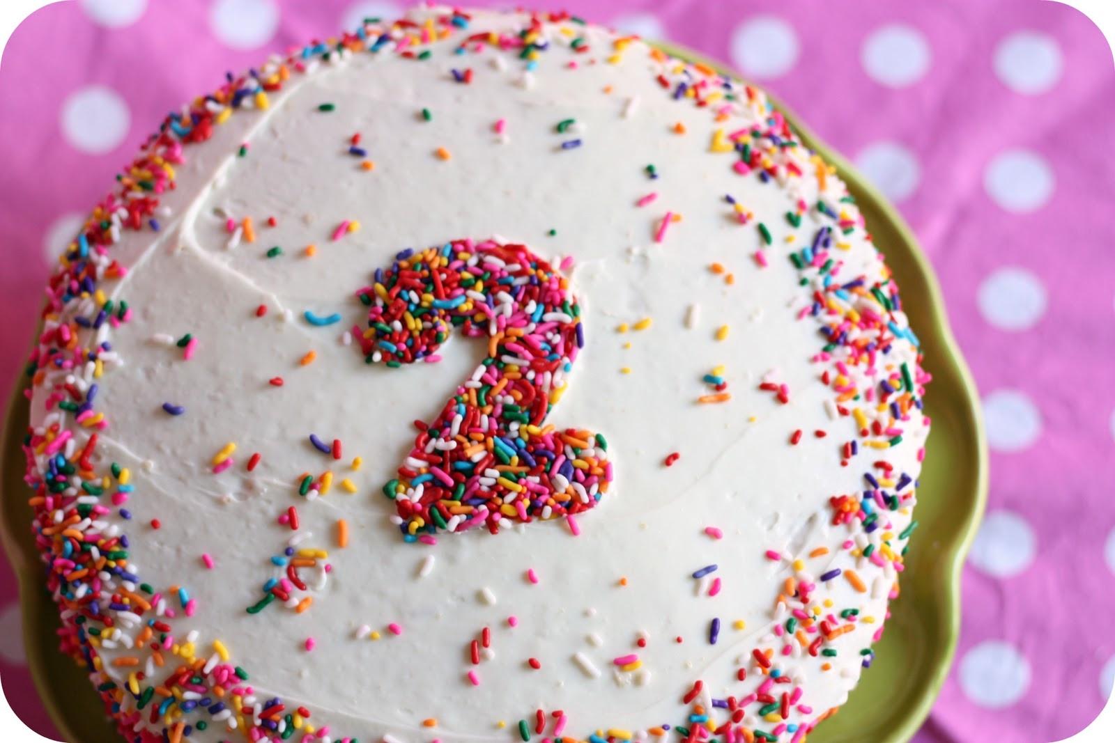 Homemade Birthday Cake Ideas  Simple Homemade Birthday Cake littlelifeofmine
