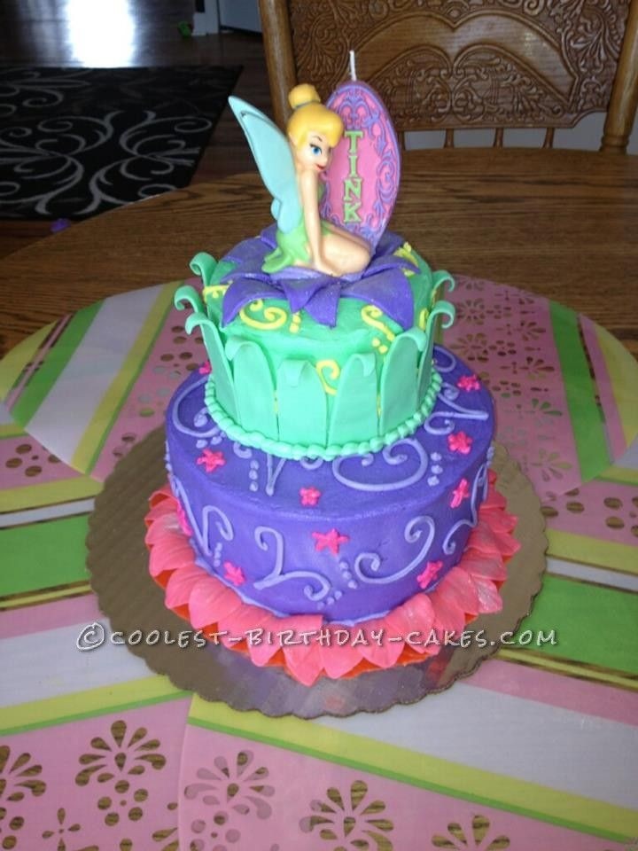 Homemade Birthday Cake Ideas  Coolest Homemade Tinkerbell Cake