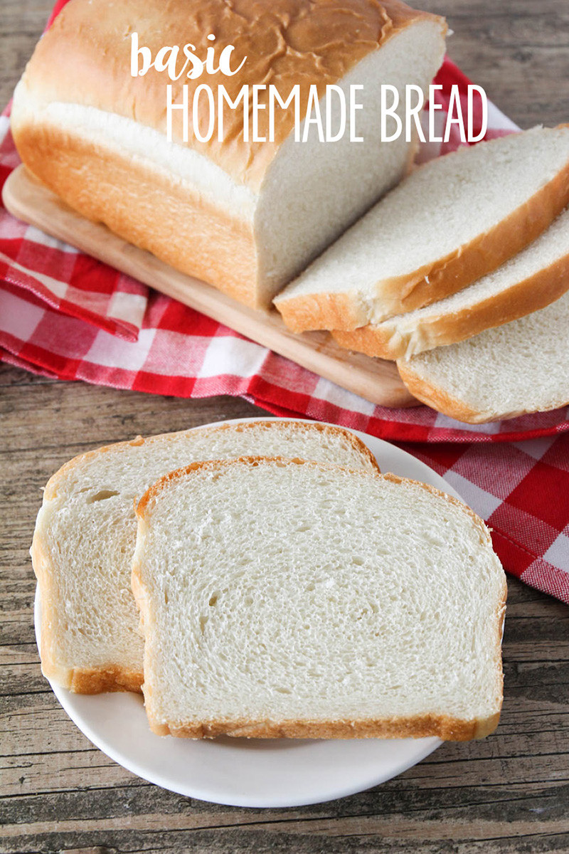 Homemade Bread Recipe  BEST Homemade Bread