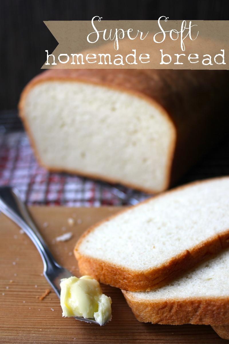 Homemade Bread Recipe  Super Soft Homemade Bread Recipe She Eats