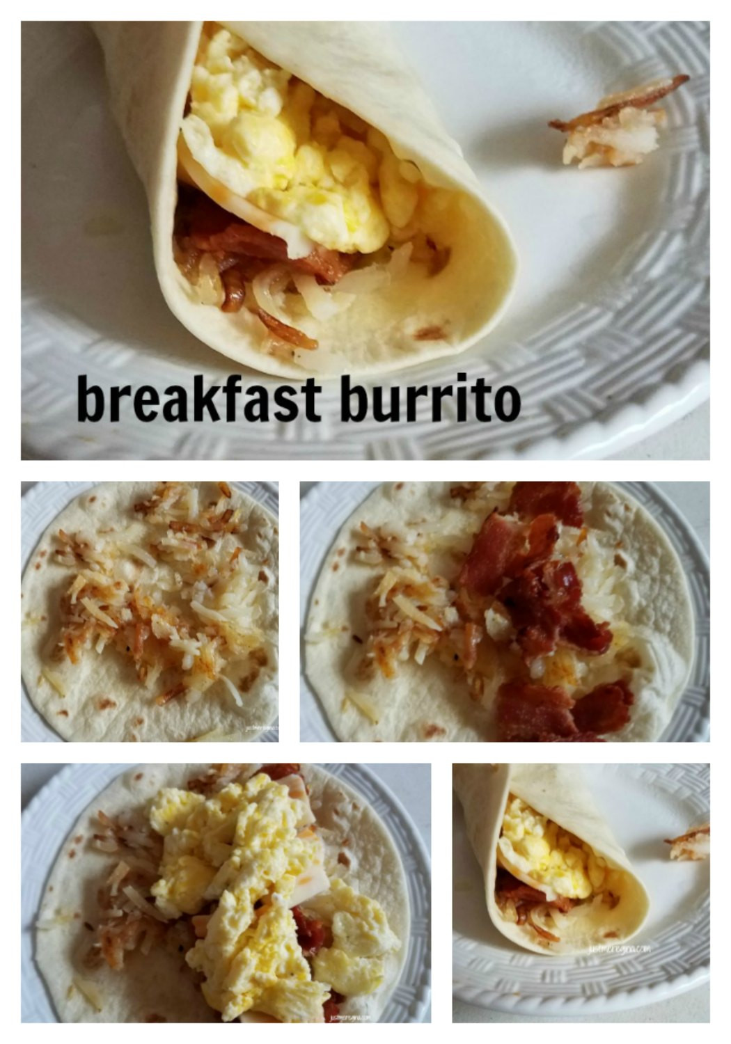 Homemade Breakfast Burritos  homemade breakfast burritos recipe Just Me Regina