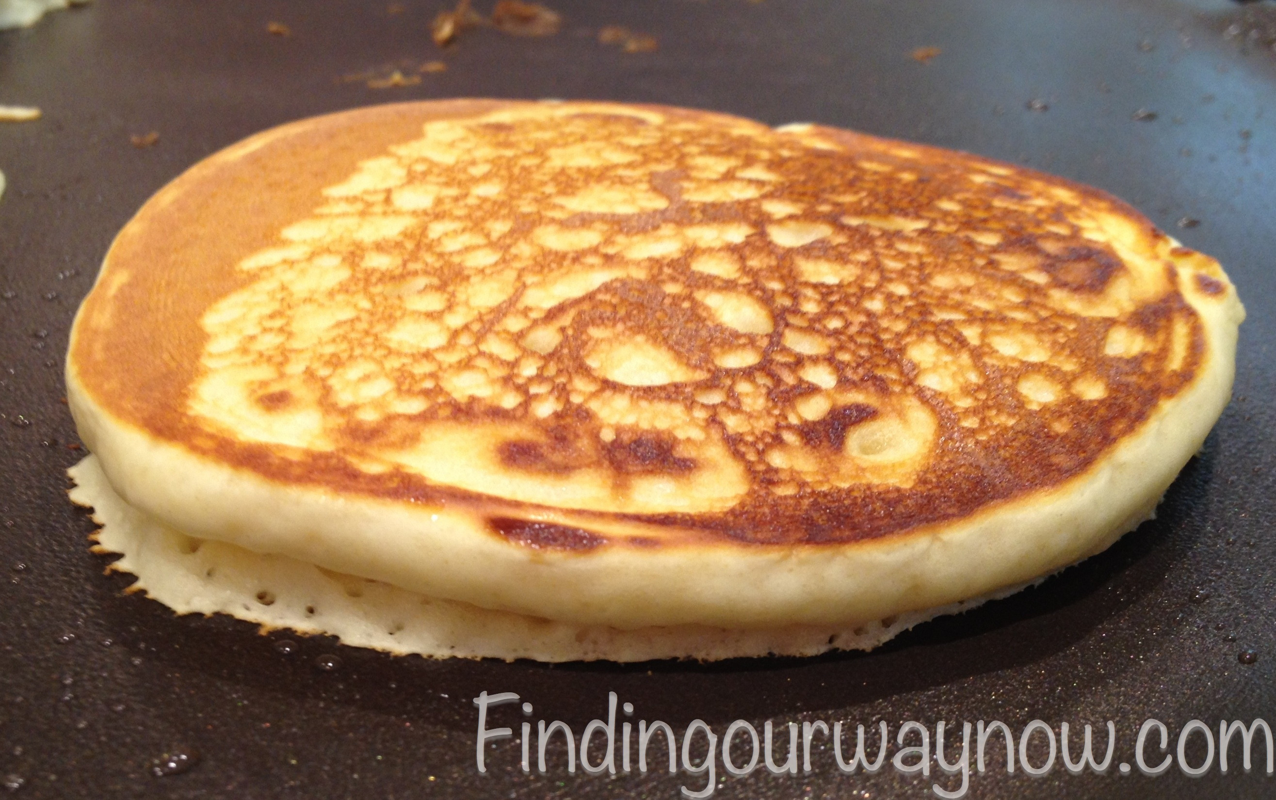 Homemade Buttermilk Pancakes  Homemade Buttermilk Pancakes Recipe Finding Our Way Now