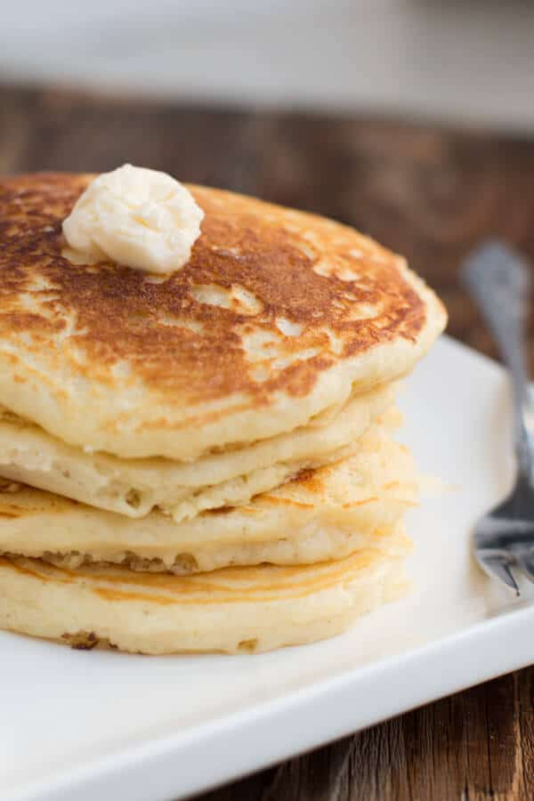 Homemade Buttermilk Pancakes  Healthy Wild Blueberry Cottage Cheese Pancakes Oh Sweet