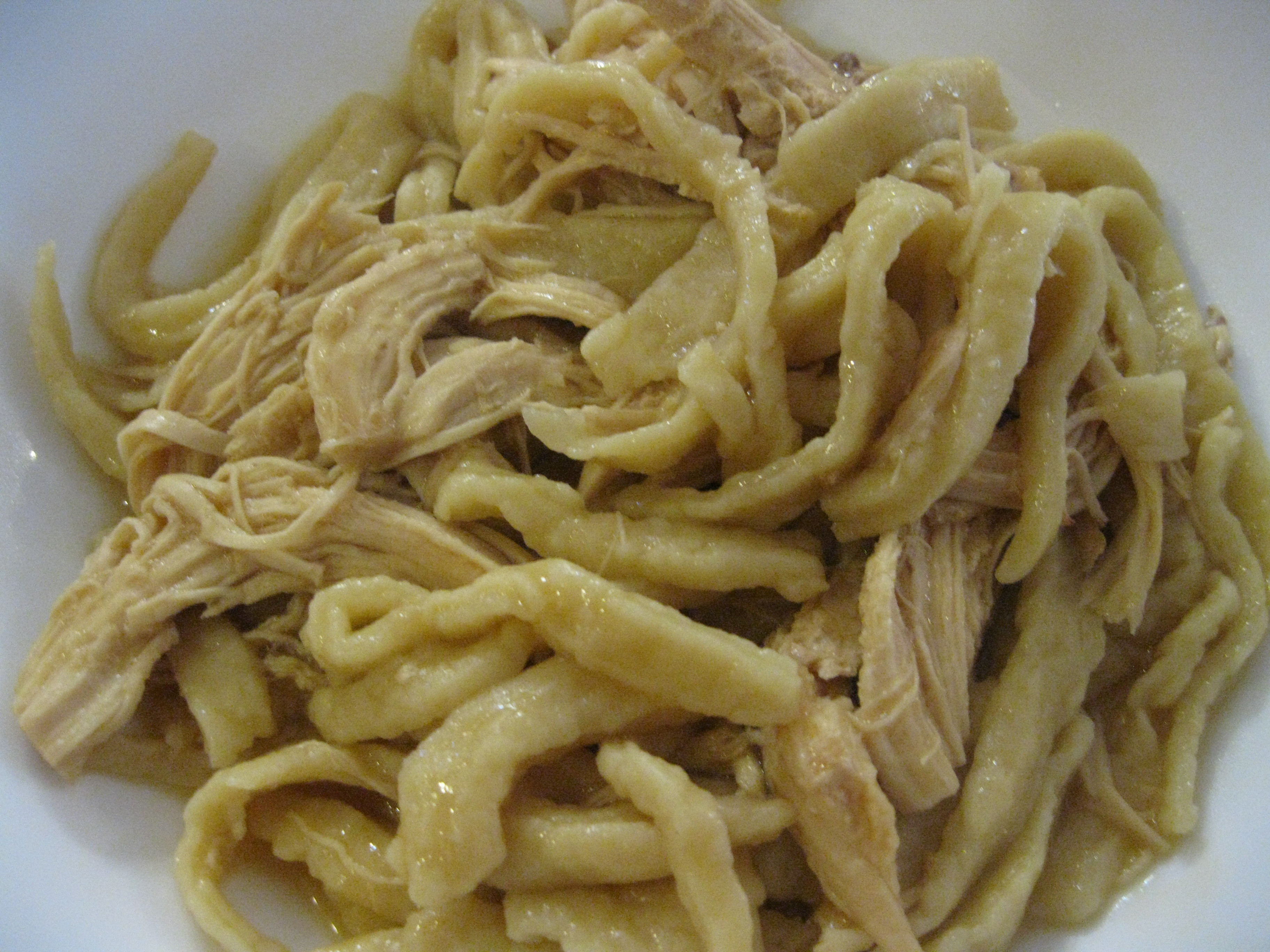 Homemade Chicken And Noodles  Homemade Noodles