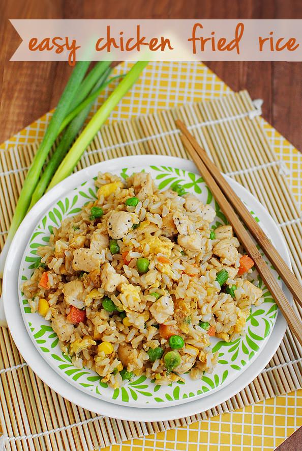 Homemade Chicken Fried Rice  EasyFriedRiceMain2