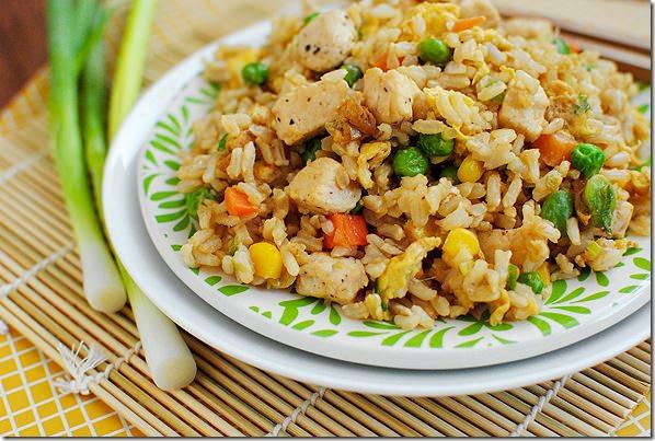 Homemade Chicken Fried Rice  DSC 0100 thumb