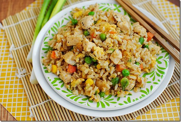 Homemade Chicken Fried Rice  DSC 0101
