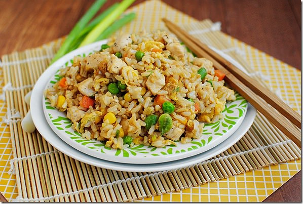 Homemade Chicken Fried Rice  DSC 0091