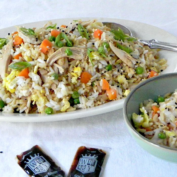 Homemade Chicken Fried Rice  Easy Chicken Fried Rice