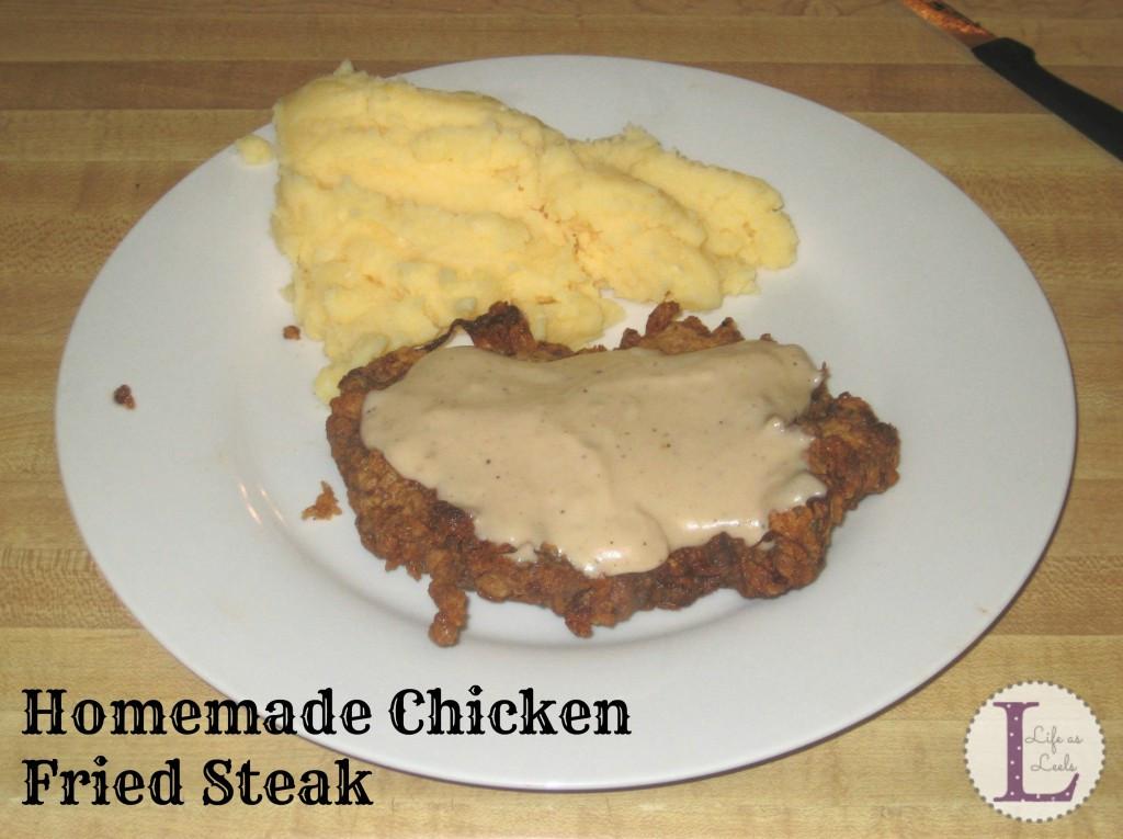 Homemade Chicken Fried Steak  Homemade Country Fried Steak Life as Leels