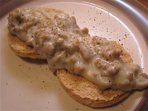 Homemade Chicken Gravy  Biscuits and Gravy with Homemade Chicken Breakfast Sausage