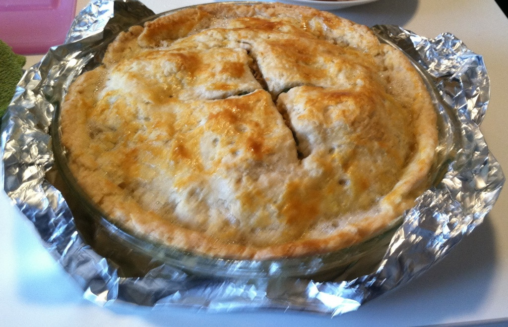 Homemade Chicken Pot Pie Crust  Chicken Pot Pie