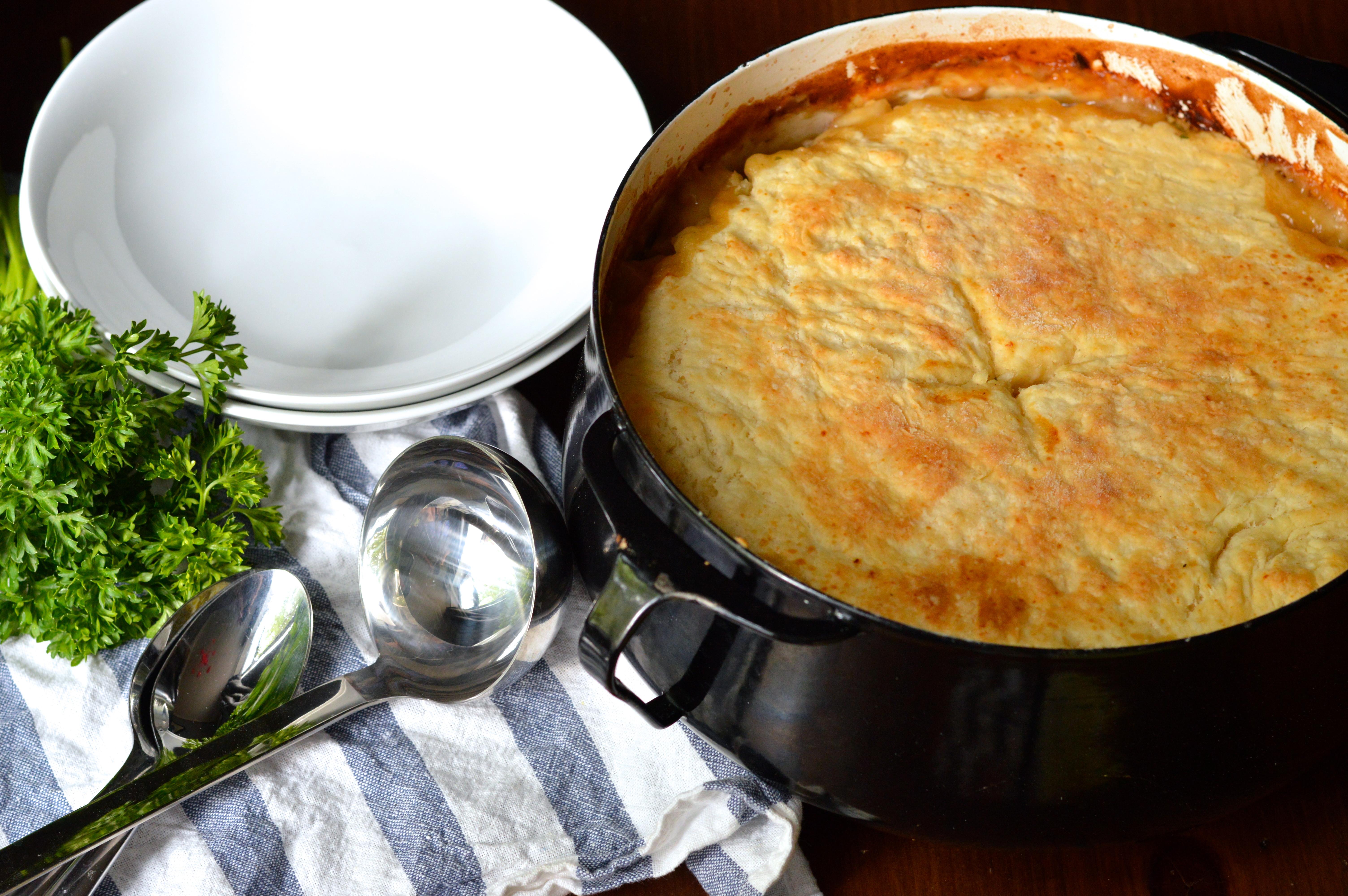 Homemade Chicken Pot Pie Crust  homemade chicken pot pie with buttermilk biscuit crust