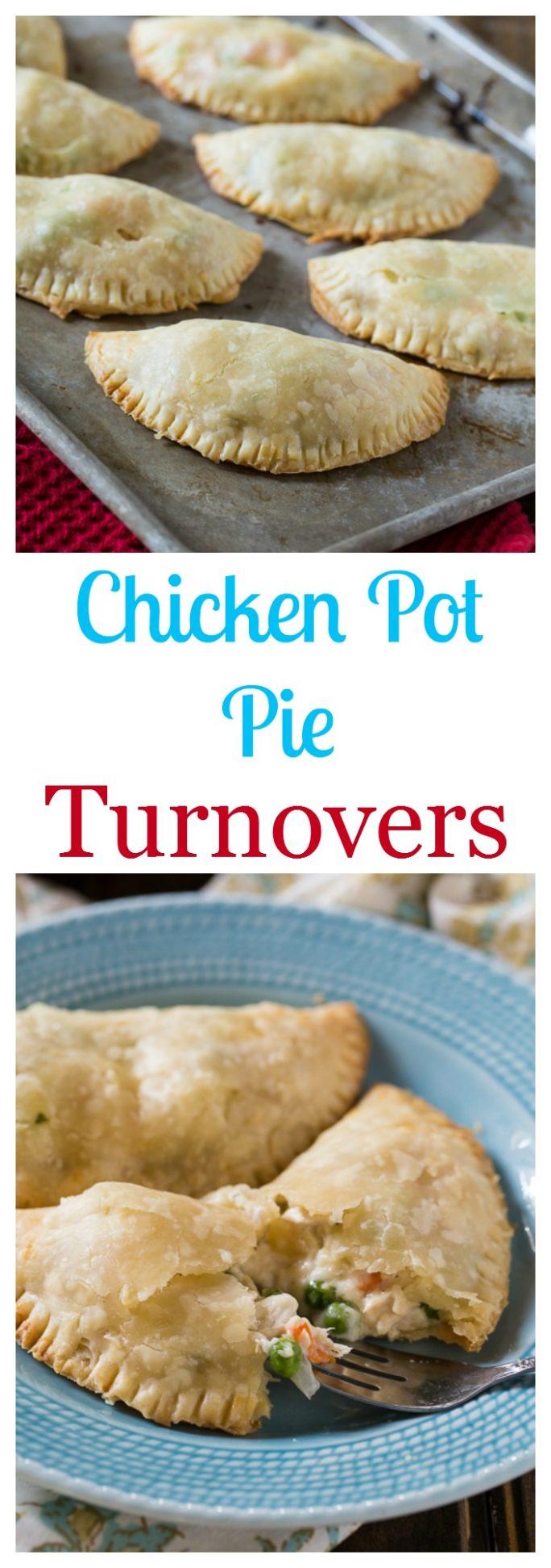 Homemade Chicken Pot Pie Crust  Chicken Pot Pie Turnovers Spicy Southern Kitchen