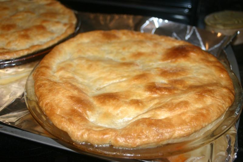 Homemade Chicken Pot Pie Crust  chicken pie crust