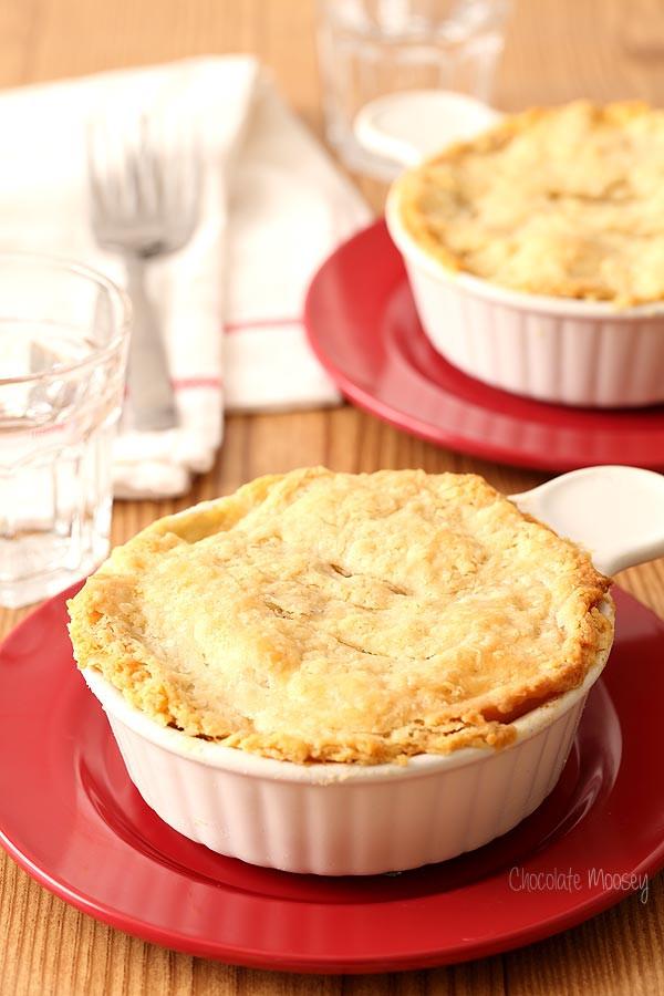 Homemade Chicken Pot Pie Crust  Chicken Pot Pie For Two