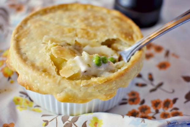Homemade Chicken Pot Pie Crust  Simply Scratch Homemade Chicken Pot Pies Simply Scratch