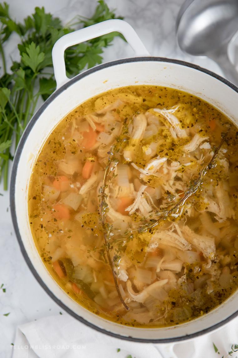Homemade Chicken Soup Recipe  best homemade chicken soup recipe