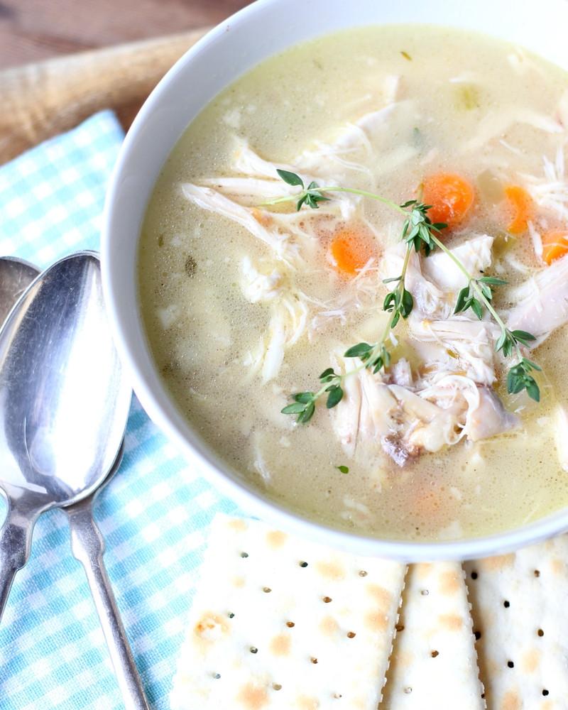 Homemade Chicken Soup Recipe  Best Homemade Chicken Soup Ever
