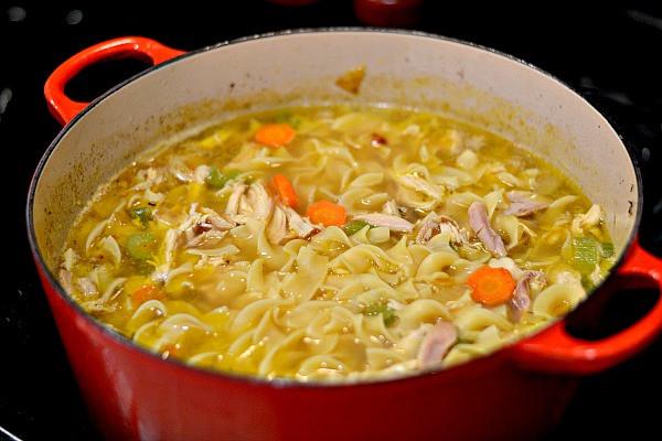Homemade Chicken Soup Recipe  Homemade Chicken Noodle Soup Recipe Peanut Butter Runner