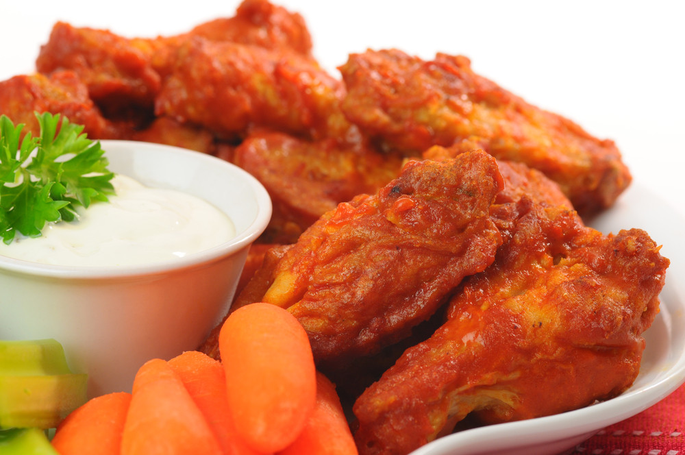 Homemade Chicken Wings  Easy Homemade Deep Fried Buffalo Wings Recipe