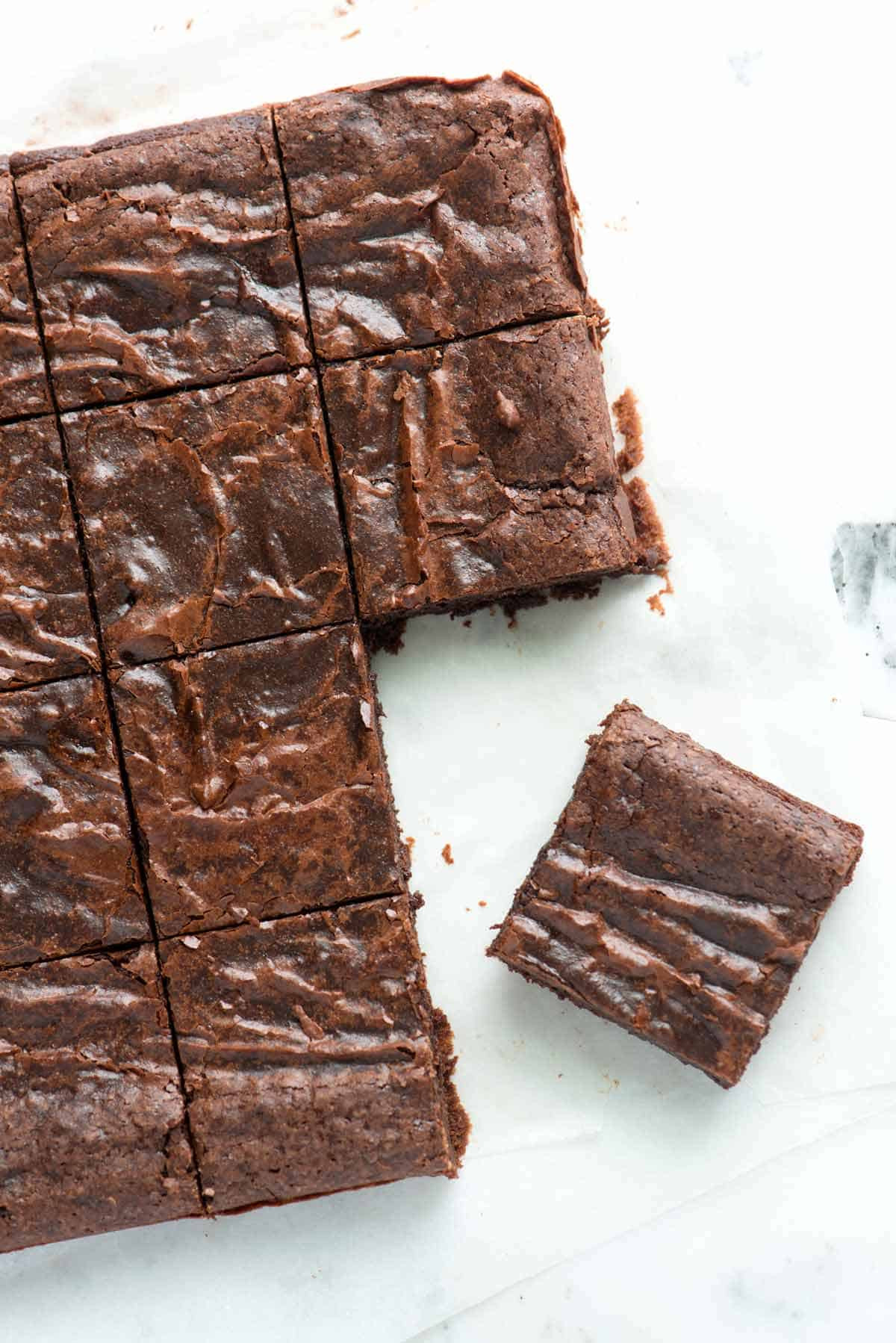 Homemade Chocolate Brownies  Easy Fudgy Brownies Recipe – Better Than The Box
