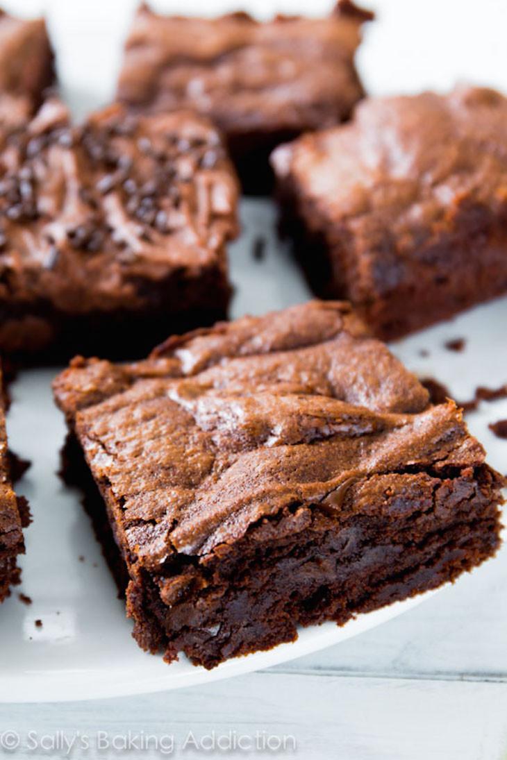 Homemade Chocolate Brownies  Best Homemade Brownie Recipe — Dishmaps
