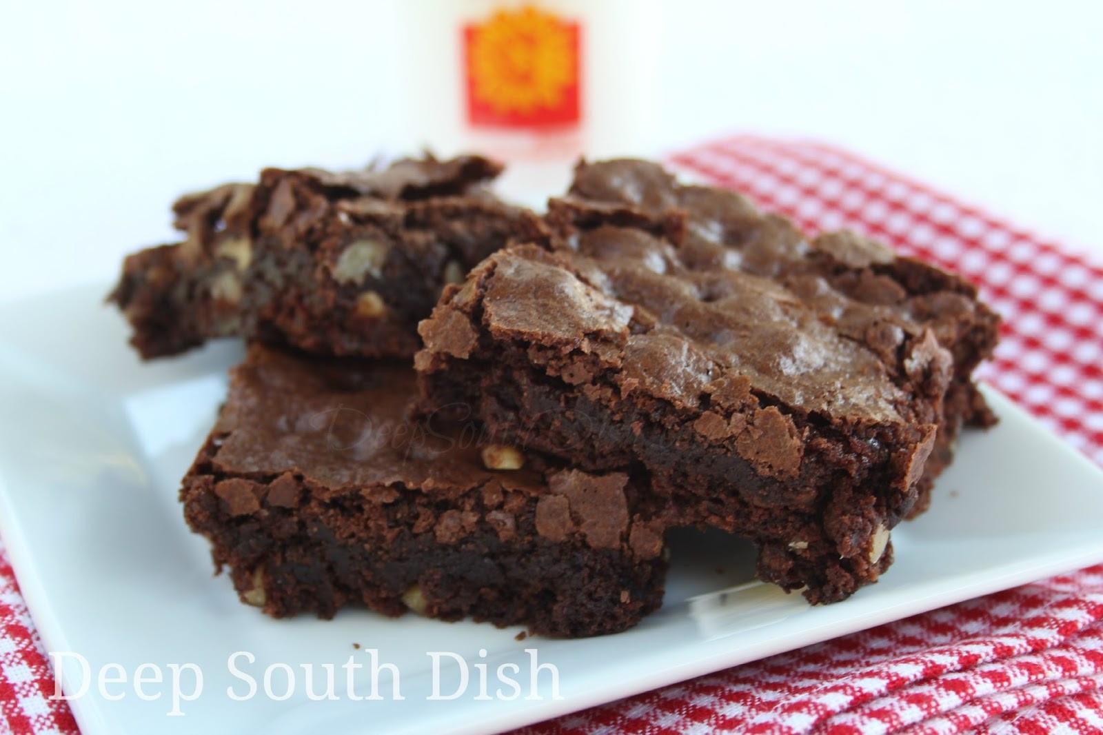 Homemade Chocolate Brownies  Deep South Dish Homemade Chocolate Brownies