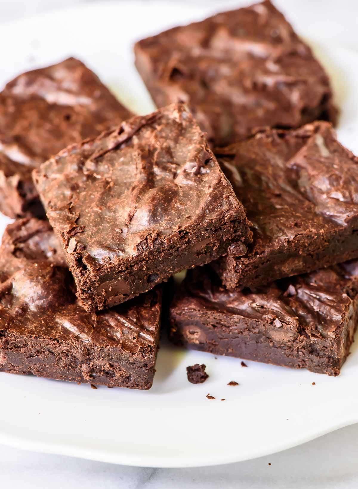 Homemade Chocolate Brownies  e Bowl Brownies