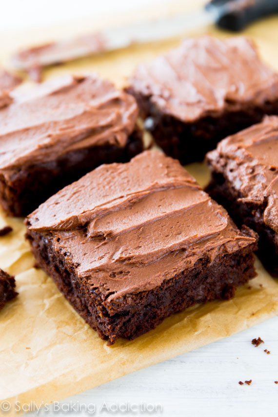 Homemade Chocolate Brownies  Homemade Brownies Recipe — Dishmaps