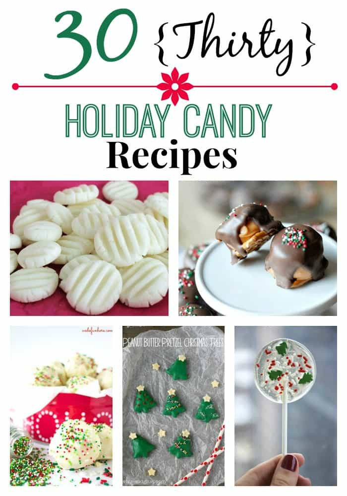 """Homemade Christmas Candy  """"Great """" Deep South Recipes Thirty Holiday Candy Recipes"""