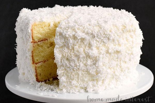 Homemade Coconut Cake Recipe  The Best Coconut Cake You ll Ever Make Home Made Interest