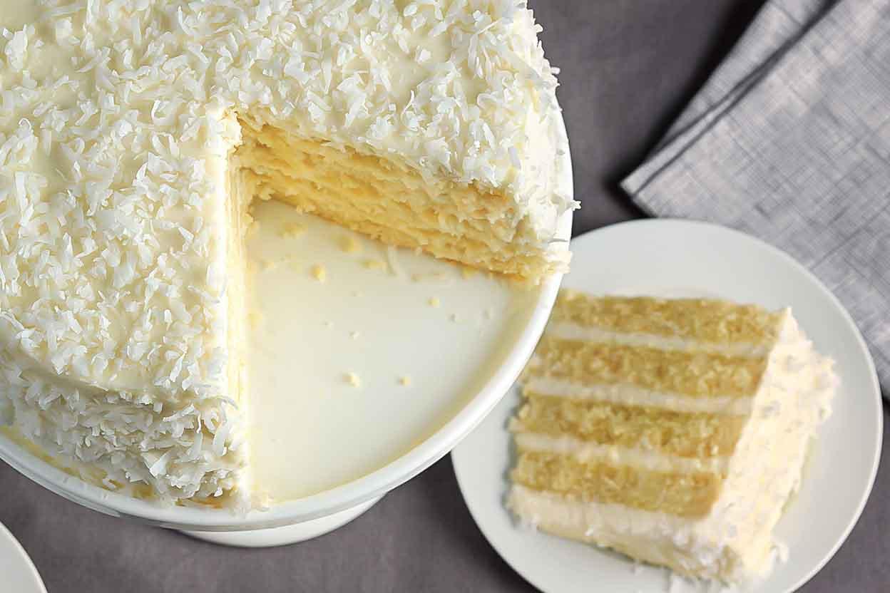 Homemade Coconut Cake Recipe  Coconut Cake Recipe