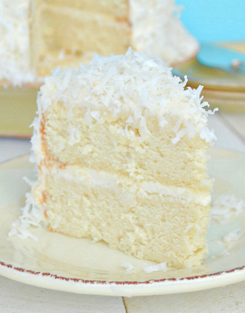 Homemade Coconut Cake Recipe  coconut cake