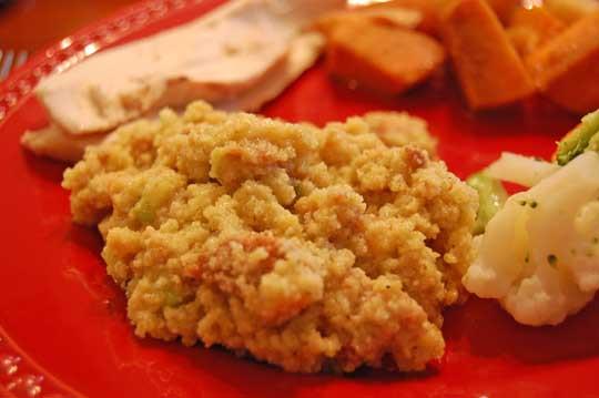 Homemade Cornbread Dressing  Homemade Cornbread Dressing Eat at Home