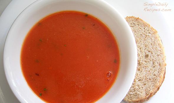 Homemade Creamy Tomato Soup  Homemade Creamy Tomato Soup Simple Daily Recipes