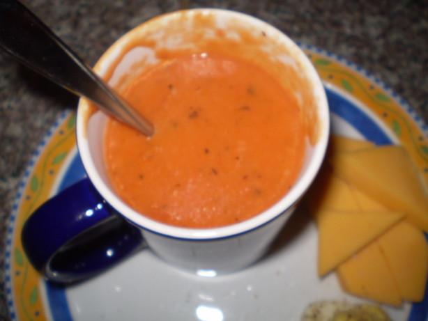 Homemade Creamy Tomato Soup  Easy Creamy Tomato Soup Recipe Food