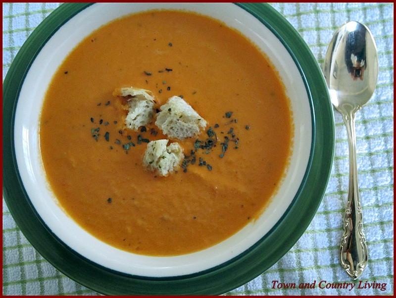 Homemade Creamy Tomato Soup  Creamy Homemade Tomato Soup Town & Country Living