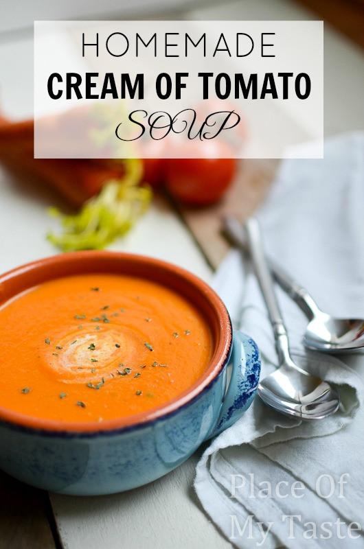 Homemade Creamy Tomato Soup  Blueberry Oatmeal Bar Recipe The 36th AVENUE