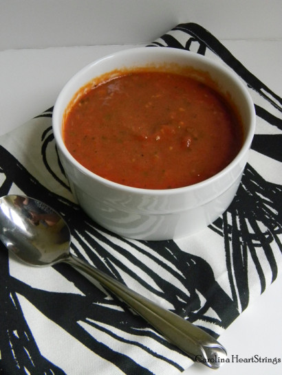 Homemade Creamy Tomato Soup  Creamy Homemade Tomato Soup