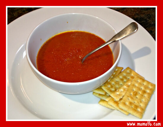 Homemade Creamy Tomato Soup  The Best EVER Homemade Tomato Soup Mom 6