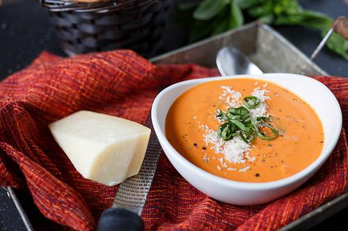 Homemade Creamy Tomato Soup  Quick and Easy Creamy Tomato Basil Soup