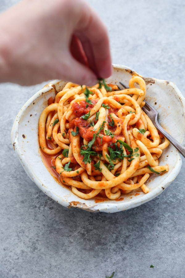 Homemade Gluten Free Pasta  How to Make Gluten Free Pasta Homemade Spaghetti Noodles