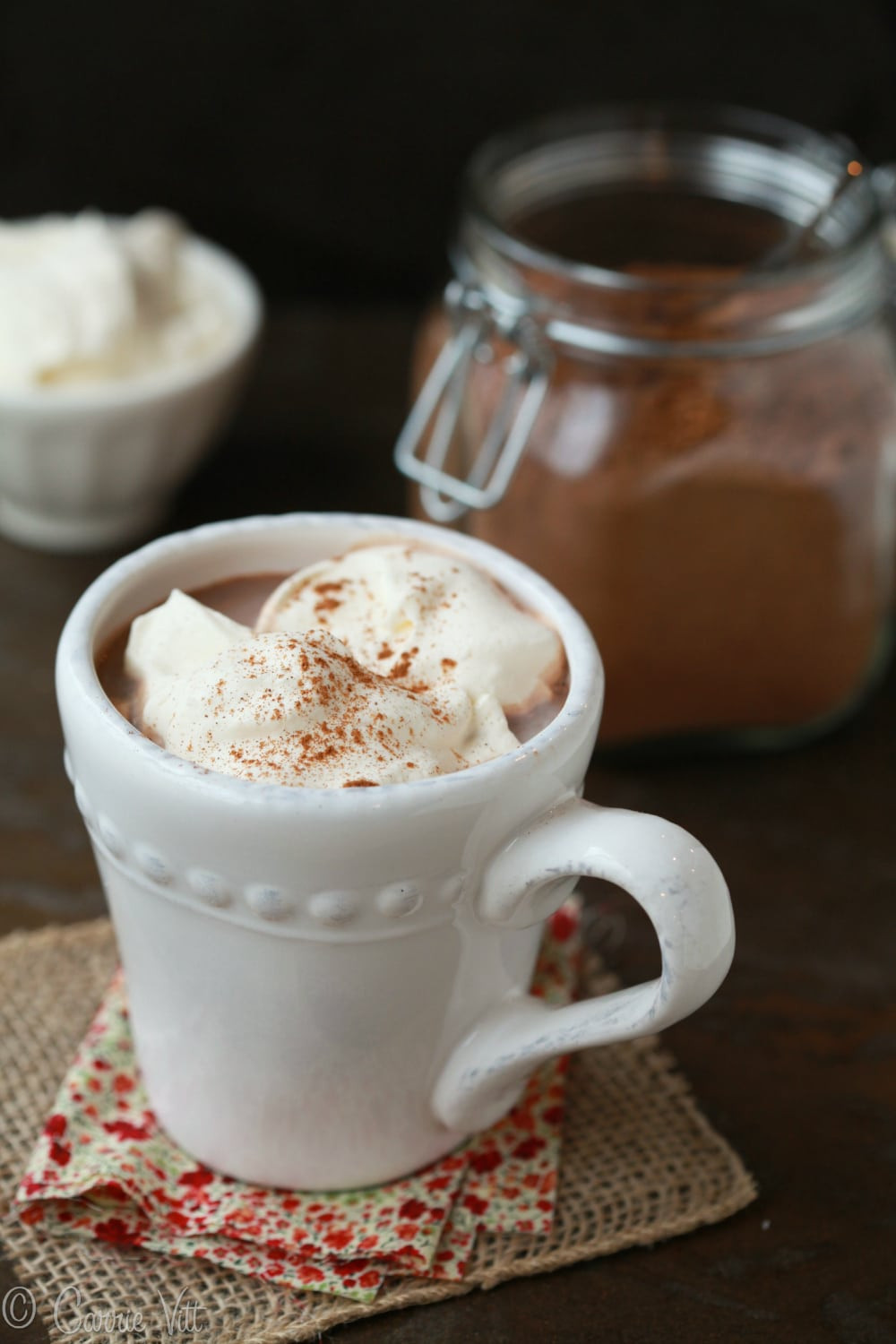 Homemade Hot Chocolate Mix  Homemade Hot Cocoa Mix Deliciously Organic
